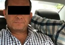 """Detienen a ex fiscal de Veracruz Luis Ángel """"N"""""""