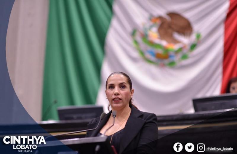 Propone diputada Cinthya Lobato iniciativas que regulen las inasistencias de diputados