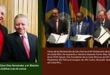 Relevante presencia de México en el 40º Aniversario de la creación de la CIDH en Costa Rica