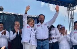 Elías Moreno festeja triunfo de Ruth Olvera Presidenta municipal electa de Atizapán