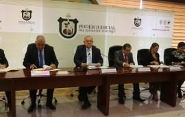Anuncia Magistrado Presidente, Edel Álvarez, creación de la Escuela Judicial