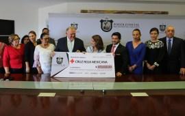 Participa Poder Judicial del Estado en la Colecta Anual 2018 de la Cruz Roja Mexicana