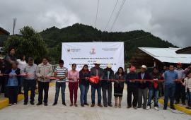 Más pavimentaciones para Ayahualulco: Filiberto Morales