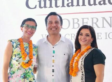 Anuncia Cuitláhuac García a las próximas titulares de la Secretaría de Cultura y la Oficina de Programa de Gobierno