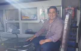 Nueva ambulancia se utilizará con mucho sentido de responsabilidad: Julio Ortega