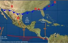 Alerta máxima por masa de aire polar y Norte con rachas de 130 km/h