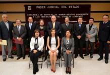 Edel Álvarez, toma protesta a integrantes del Consejo Académico del ICPJEV