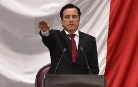 Gobernador de Veracruz, Cuitláhuac García declara Crisis Humanitaria por desapariciones