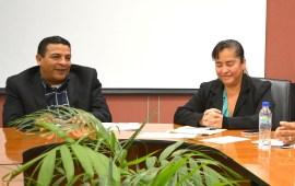 Revisa diputado Gómez Cazarín diversos proyectos de obra para municipios