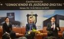 Abogados reconocen a Edel Álvarez, por crear el primer juzgado digital en la entidad