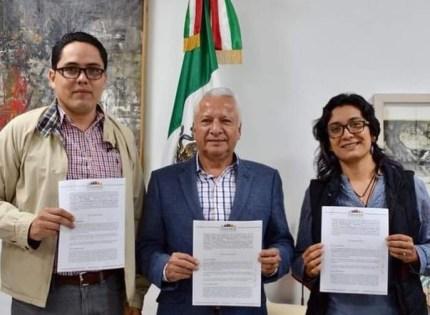Firman Congreso de Veracruz y el CLAES convenio en materia educativa