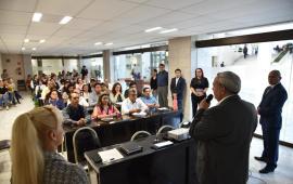 """Domingo Bahena, inauguró el curso """"obligaciones de transparencia"""" en el Congreso de Veracruz"""