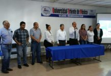 José Luis Almanza imparte conferencia en la UOM