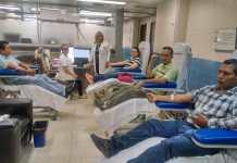 Una veintena de personas acude al llamdo del IMSS para donar sangre