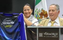 Presenta SECTUR cuarta edición de la carrera La Cuesta Necoxtla