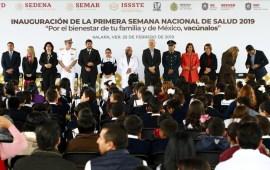 Ramos Alor da el banderazo a la Primera Semana Nacional de Salud 2019