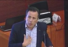 Urge Cuitláhuac García a Senadores aprobar Guardia Nacional