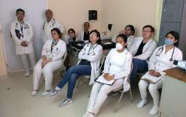 "Capacita SS sobre ""Situación de la Influenza 2019"" en Hospital de Poza Rica"