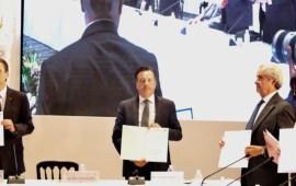 Firma Veracruz Acuerdo para el Diálogo Social y Fortalecimiento de la Paz Laboral