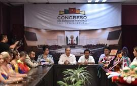 Promueven en el Congreso del Estado a emprendedores veracruzanos