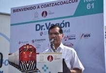 """Inaugura Víctor Carranza, jornadas médicas del """"Dr. Vagón el Tren de la Salud"""""""