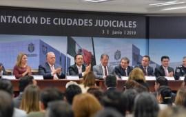 Respalda gobernador Cuitláhuac García proyecto de Ciudades Judiciales