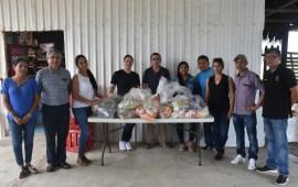 """Entregan víveres recuperados en el evento """"Corazón de Mar"""""""