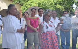 """Con ceremonia del Abuelo Fuego, SECTUR anticipa el """"Festival del Río y la Palabra"""""""