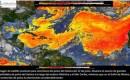 Se prevé que el polvo del Sahara llegue a México, cerca de la península de Yucatán