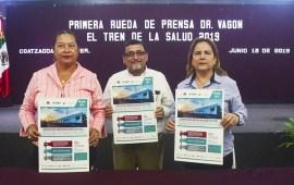 """Presenta Ayuntamiento la visita del Dr. Vagón el """"Tren de la Salud"""""""