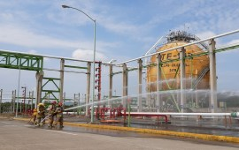 Participa Veracruz con 4 simulacros de emergencias químicas