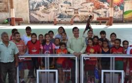 Equipa Ayuntamiento de Coatzacoalcos canchas de básquetbol