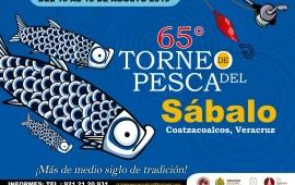 Invita SECTUR al 65 Torneo de Pesca del Sábalo en Coatzacoalcos