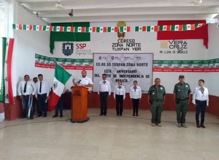 Celebran Fiestas Patrias en penales del estado; refuerzan vigilancia por puente largo