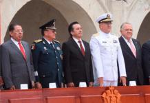 Participa presidente del TSJ, Edel Álvarez Peña, en ceremonia del 172 aniversario del sacrificio de los Niños Héroes de Chapultepec