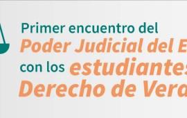 Tribunal Superior de Justicia convoca al primer encuentro con estudiantes de derecho del Estado de Veracruz