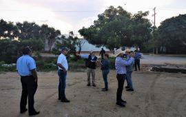 Supervisan UNAM y Ayuntamiento de Coatzacoalcos zonas marginadas del municipio