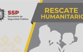 Resguarda SSP a 25 migrantes y captura a cuatro presuntos traficantes de personas