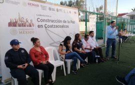 Construcción por la paz, redes vecinales en acción en Coatzacoalcos