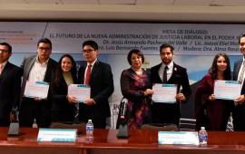 Continúan las actividades del Primer Encuentro con estudiantes de Derecho en el PJE