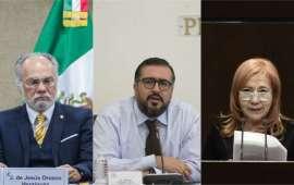 Lista la terna de candidatos para la elección de nuevo presidente de la Comisión Nacional de los Derechos Humanos