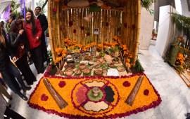 En el Congreso, muestra de altares por el Día de Muertos