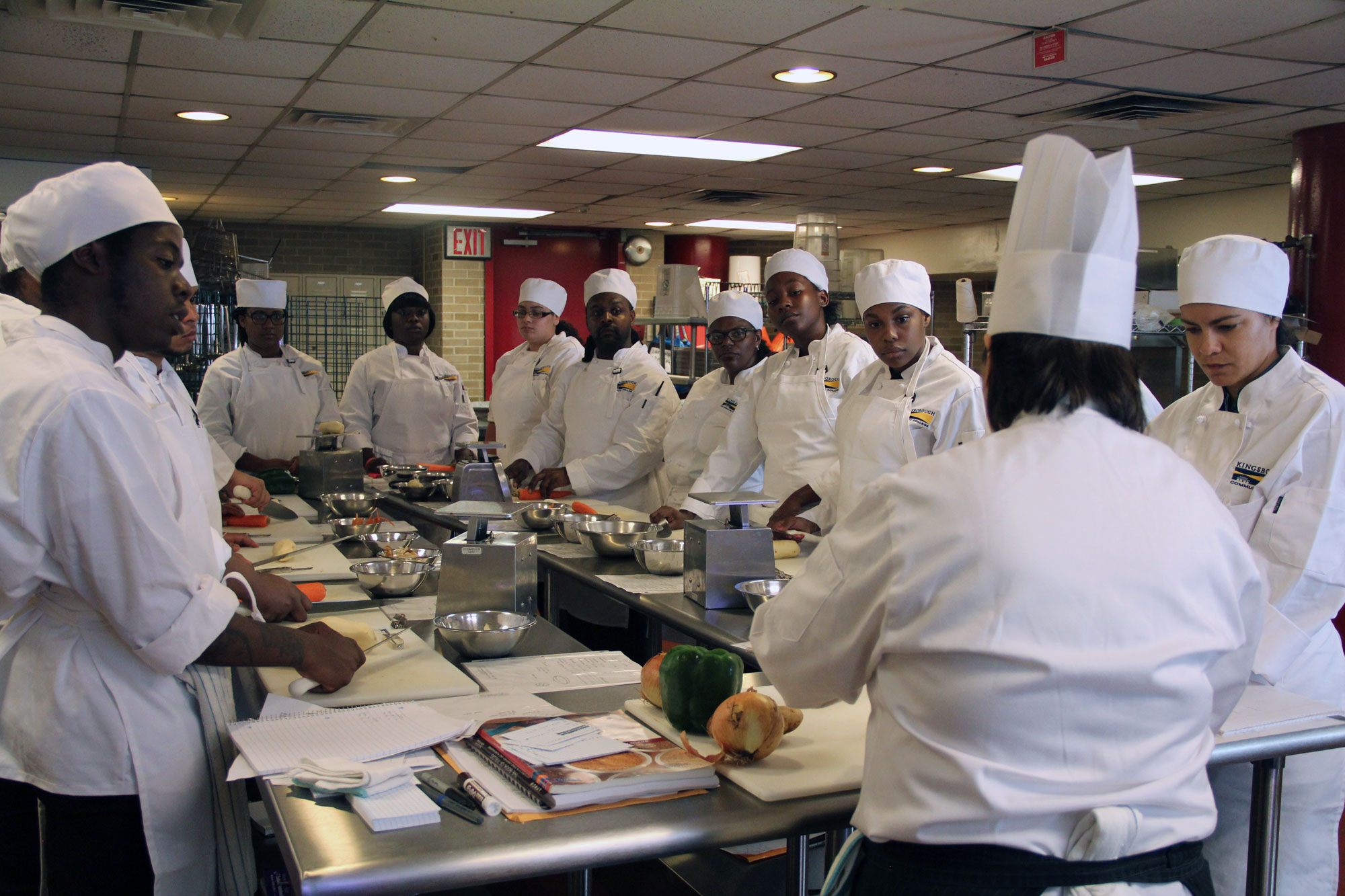 Cooking courses and classes in culinary school
