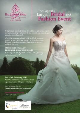 Bride Show 2011 Abu Dhabi Bridal Ad