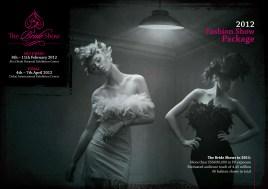 Bride Show 2012 Fashion Brochure cover