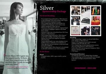 Bride Show 2012 sponsorship brochure page9