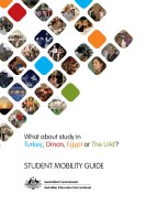 An 84 pages design and layout Student Mobility Guide for the Australian Government -- Australian Education International. Spring-bind final print production.