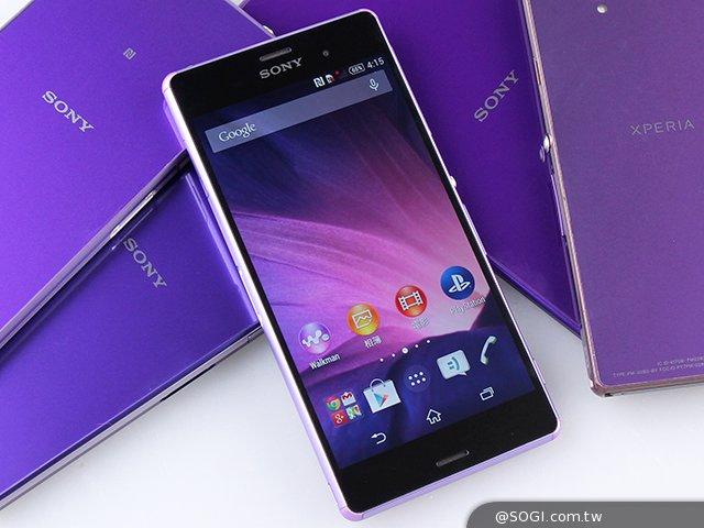 【轉貼】(手機王)Xperia Z紫爆了!Sony Z3微薰紫外加全系列手機-新聞放送臺