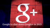 Google to shut down Google Plus: five things to know,video