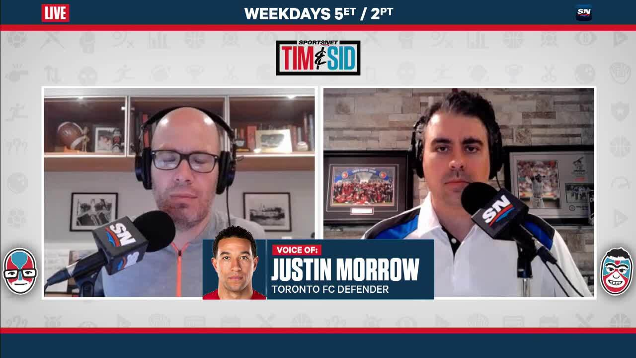 Photo of Justin Morrow explains importance of the Black Players Coalition of MLS   Tim & Sid – Sportsnet.ca